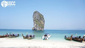 Dai Beach and Quang Hanh hot mineral spring
