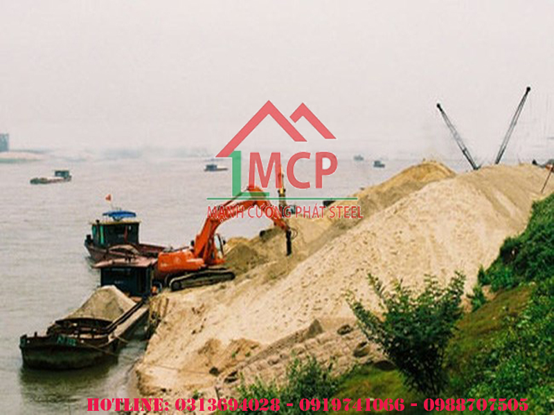 The latest quotation of Southern construction sand in Ho Chi Minh City in 2020