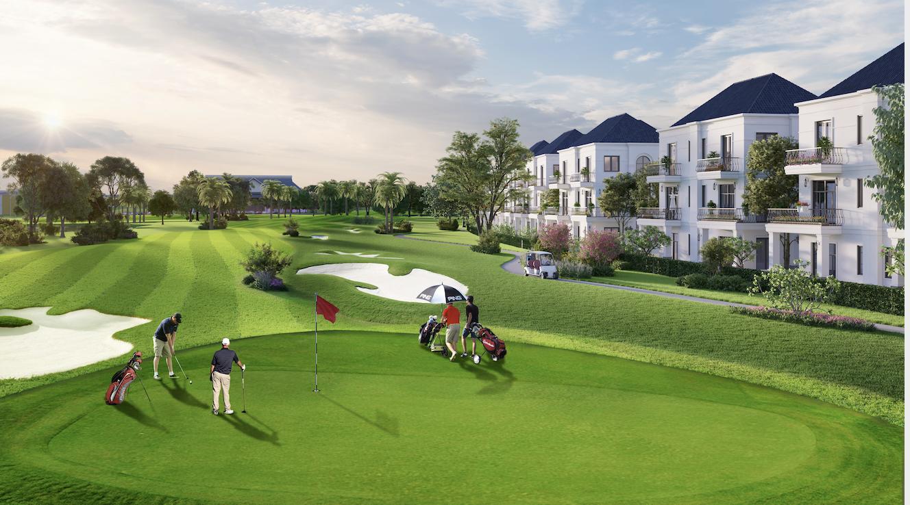 West Lakes Golf & Villas : Bất động sản sân golf xuất hiện tại Long An