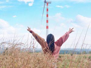 Check in ngay cánh đồng quạt gió Đắk Lắk đẹp tựa trời Tây