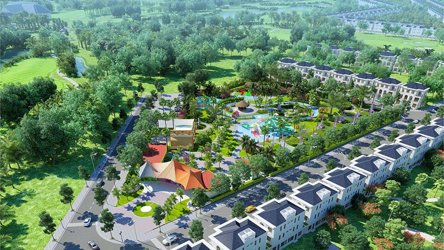 Bất động sản sân golf West Lakes Golf & Villas ưu thế và cơ hội bứt tốc tại Long An
