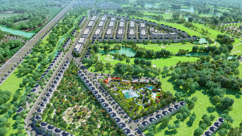 Đơn vị đầu tư khu biệt thự nghỉ dưỡng sân golf West Lakes Golf & Villas Long An