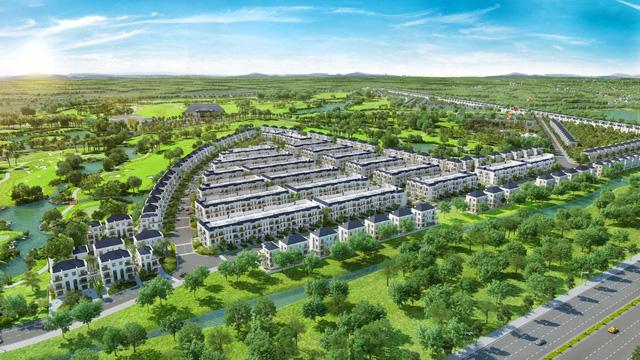 Bất động sản nghỉ dưỡng sân Golf lợi thế phát triển kinh doanh tại Long An