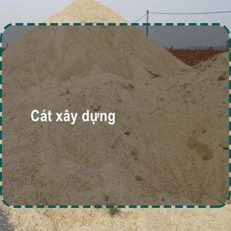 Giá cát xây dựng đảm bảo chất lượng