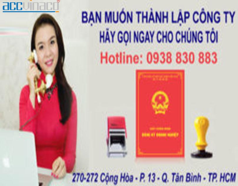 Công ty dịch vụ thành lập doanh nghiệp tại Tphcm