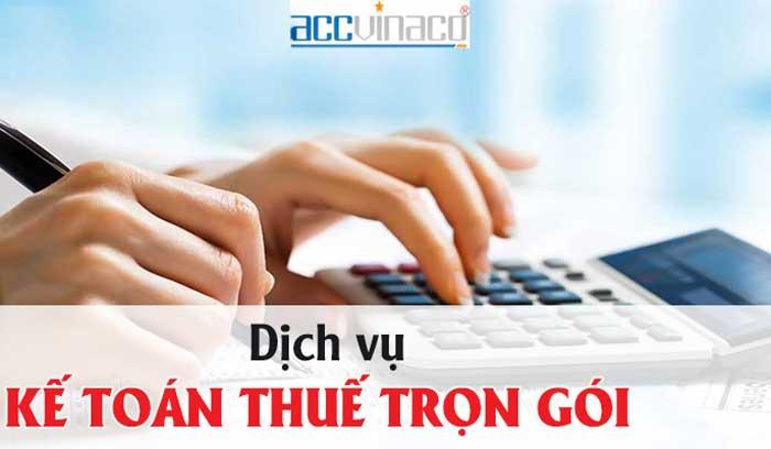 Bảng báo giá Dịch vụ kế toán trọn gói tại Quận Phú Nhuận